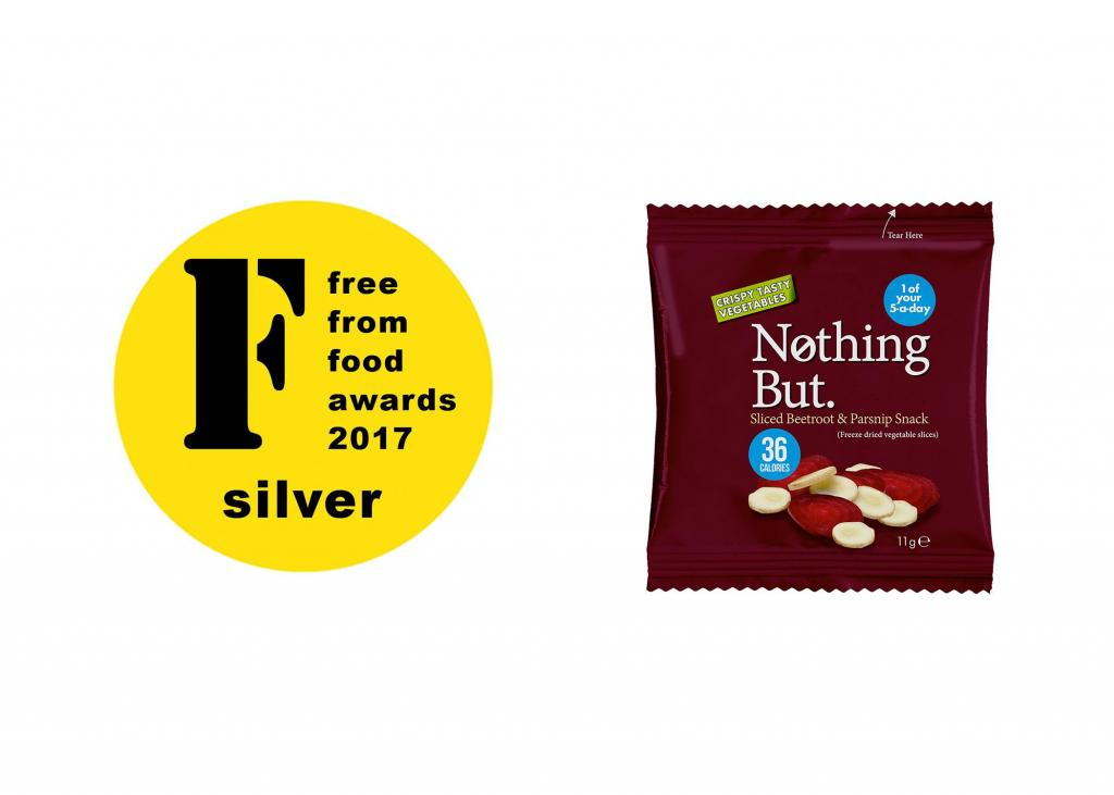 Beetroot & Parsnip Wins Silver at FreeFrom Food Awards 2017